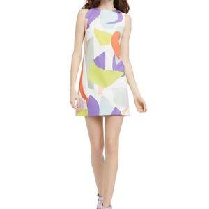 NWOT Alice+ Olivia Clyde Aline Shift Mini Dress